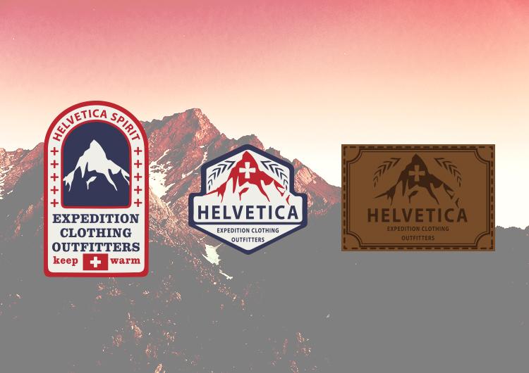 Helvetica Labels